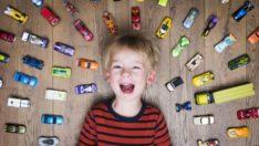 Çocuklar oyuncakla hasta olabilir