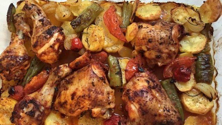 Fırında Tavuk Budu