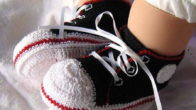 Tığ Örgüsü Ayakkabı