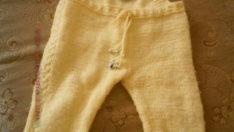 Sarı Bebek Tulumu