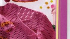 Tığ Örgüsü Bebek Bluzu