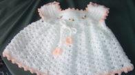 Beyaz Bebek Elbisesi