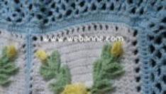 Sarı Çiçekli Battaniye