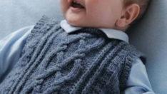 Erkek Bebek İçin Süveter