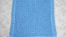 Pembe-Mavi Battaniye