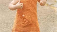Turuncu Elbise