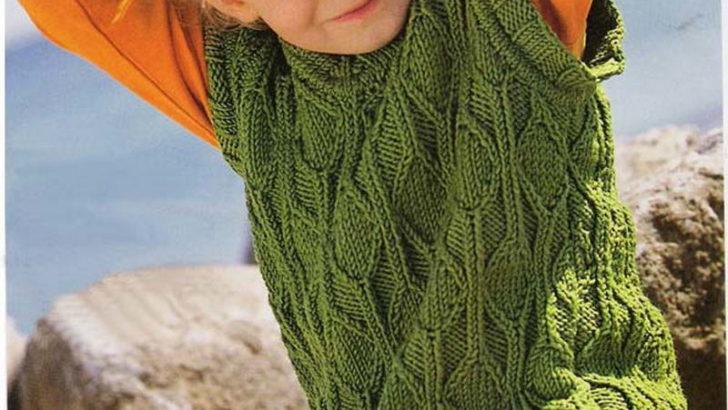 Yeşil Çocuk Süveteri